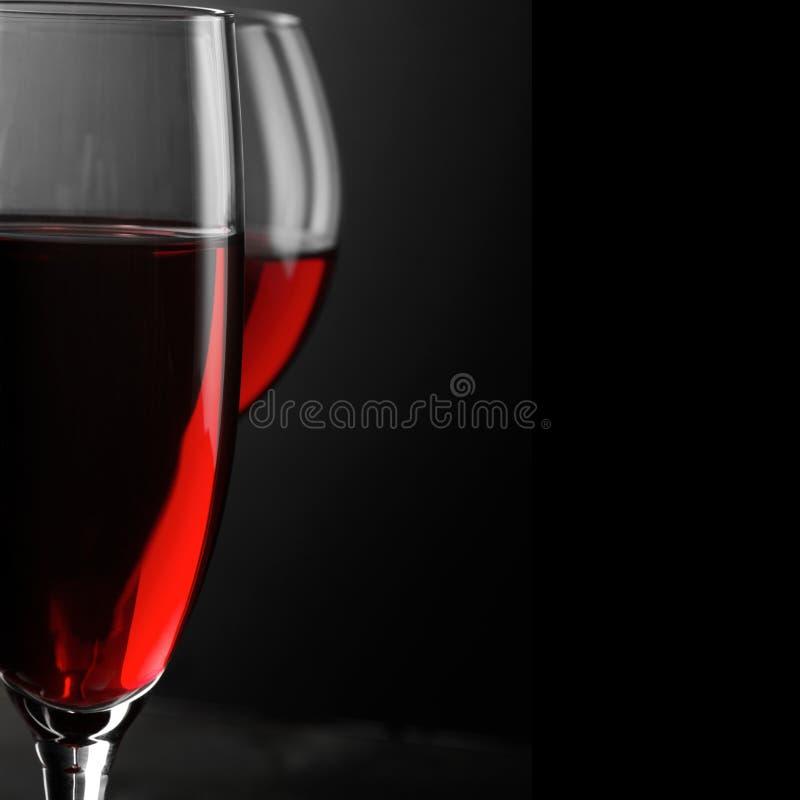 Κινηματογράφηση σε πρώτο πλάνο κόκκινου κρασιού στοκ φωτογραφίες