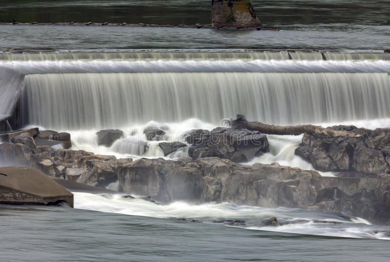 Κινηματογράφηση σε πρώτο πλάνο πτώσεων Willamette στοκ φωτογραφίες
