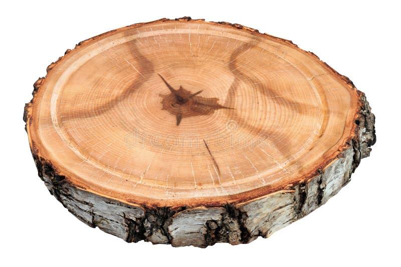 Κινηματογράφηση σε πρώτο πλάνο του ξύλινου δίσκου στοκ φωτογραφία με δικαίωμα ελεύθερης χρήσης