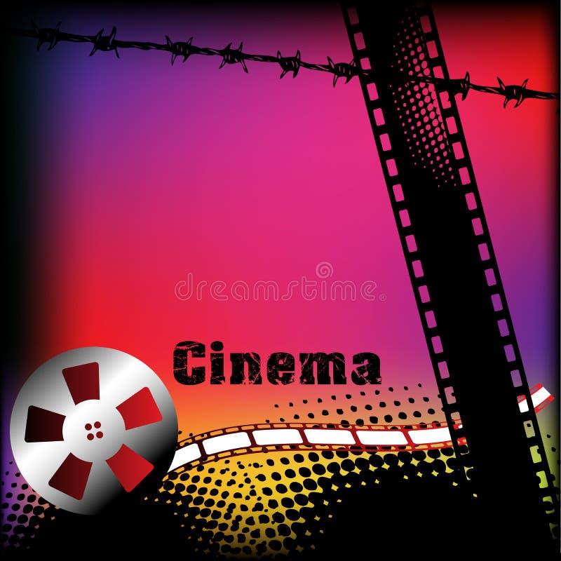 κινηματογράφος ανασκόπη&sigm ελεύθερη απεικόνιση δικαιώματος