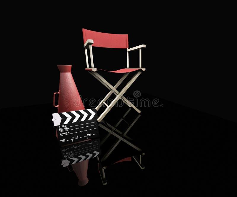 κινηματογράφος αντικει&mu Στοκ Φωτογραφίες