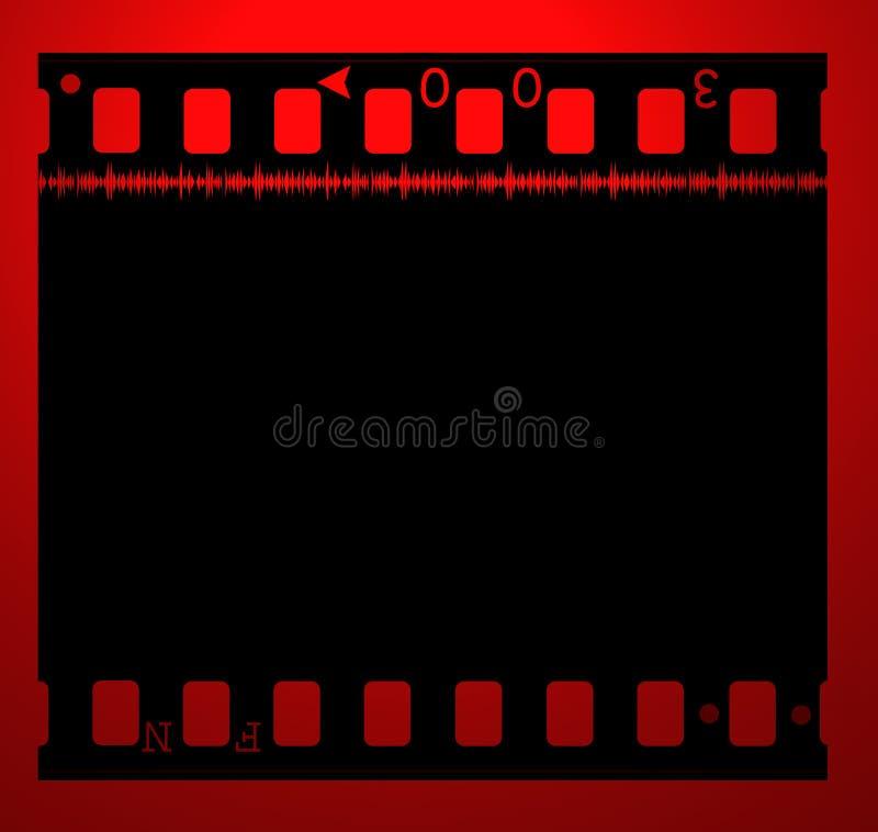 κινηματογράφος ταινιών 35mm απεικόνιση αποθεμάτων