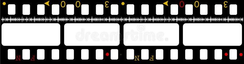 κινηματογράφος ταινιών 35mm ελεύθερη απεικόνιση δικαιώματος
