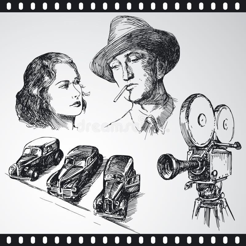 Κινηματογράφος ελεύθερη απεικόνιση δικαιώματος