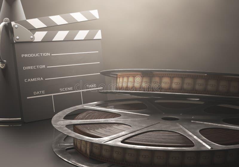 Κινηματογραφική ταινία στοκ φωτογραφία με δικαίωμα ελεύθερης χρήσης