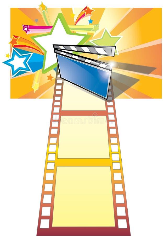 κινηματογραφικός αστέρα&sig ελεύθερη απεικόνιση δικαιώματος