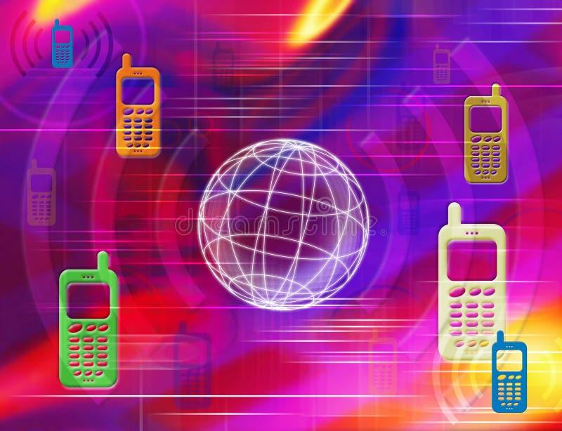 κινητά τηλέφωνα ελεύθερη απεικόνιση δικαιώματος