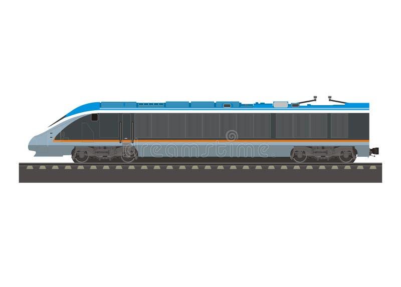 Κινητήρια απλή απεικόνιση υψηλής ταχύτητας διανυσματική απεικόνιση
