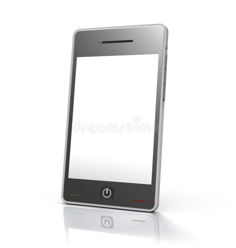 κινητή αφή τηλεφωνικής οθόν ελεύθερη απεικόνιση δικαιώματος