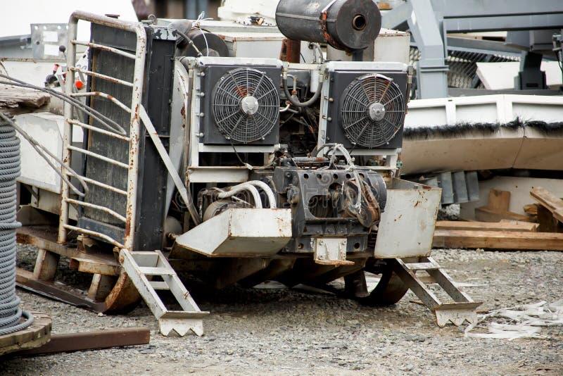 Κινητή γεννήτρια diesel στοκ φωτογραφία