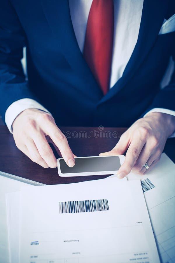 Κινητή πληρωμή στοκ φωτογραφίες με δικαίωμα ελεύθερης χρήσης