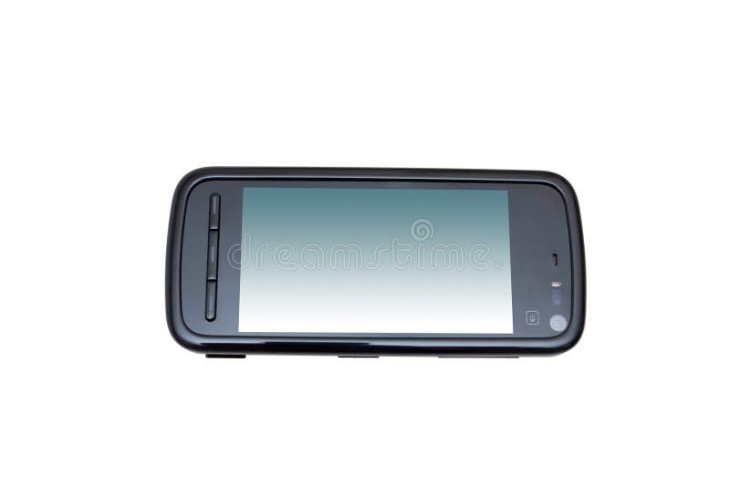 κινητή σύγχρονη τηλεφωνική στοκ εικόνα με δικαίωμα ελεύθερης χρήσης