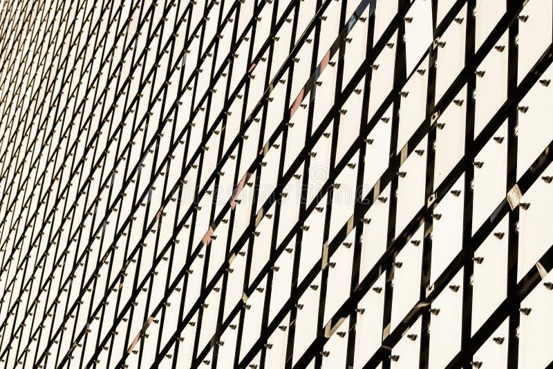 Κινητική πρόσοψη του κτηρίου στοκ εικόνα με δικαίωμα ελεύθερης χρήσης