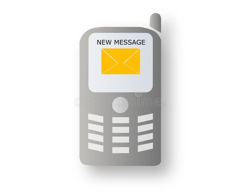 κινητός νέος μηνυμάτων ελεύθερη απεικόνιση δικαιώματος