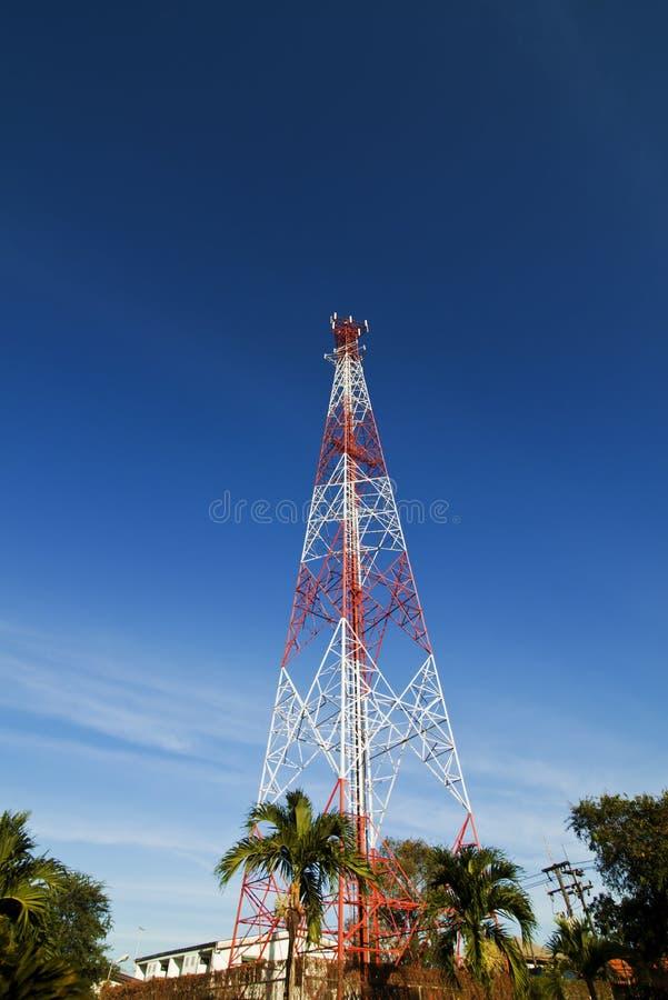 κινητός πύργος τηλεφωνικώ& στοκ εικόνες