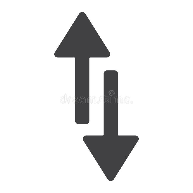 Κινητό εικονίδιο στοιχείων glyph, Ιστός και κινητός απεικόνιση αποθεμάτων