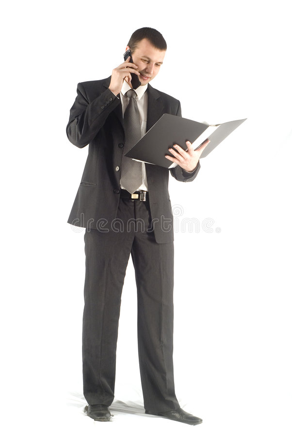κινητό τηλέφωνο επιχειρημ&al στοκ εικόνες