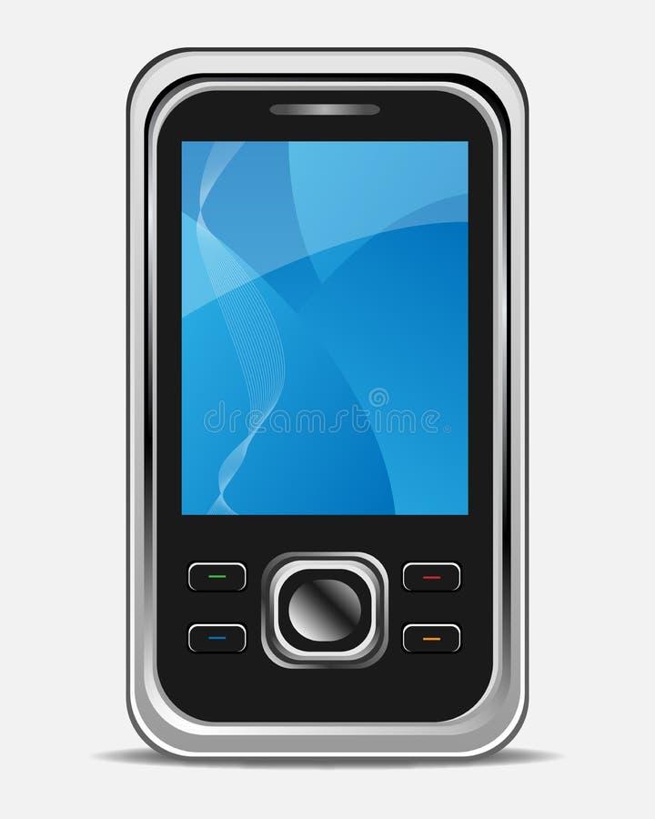 κινητό τηλέφωνο διανυσματική απεικόνιση