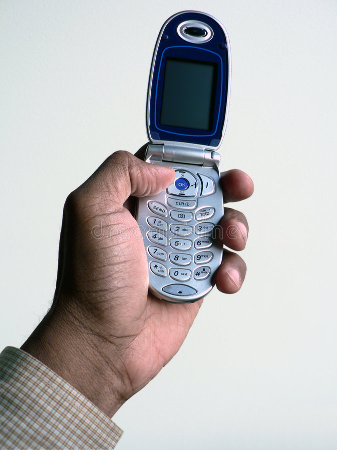 κινητό τηλέφωνο 2 που ψαλι&delt στοκ εικόνα με δικαίωμα ελεύθερης χρήσης