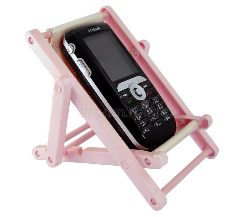 κινητό τηλεφωνικό υπόλοιπο στοκ εικόνα