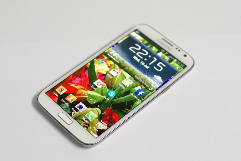 Κινητό τηλέφωνο Smartphone στοκ εικόνα με δικαίωμα ελεύθερης χρήσης