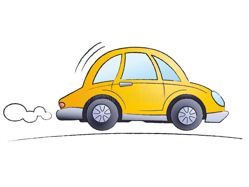 κινούμενα σχέδια αυτοκι& διανυσματική απεικόνιση