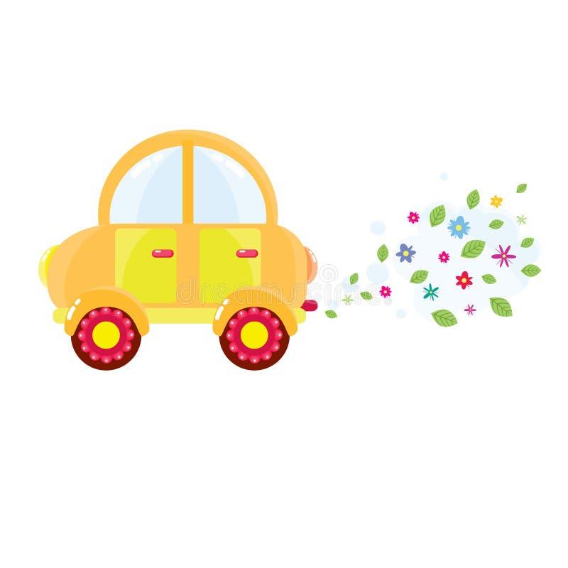 Download κινούμενα σχέδια αυτοκι& διανυσματική απεικόνιση. εικονογραφία από κλάδων - 22785951