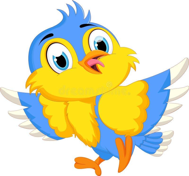 κινούμενα σχέδια πουλιών &c ελεύθερη απεικόνιση δικαιώματος