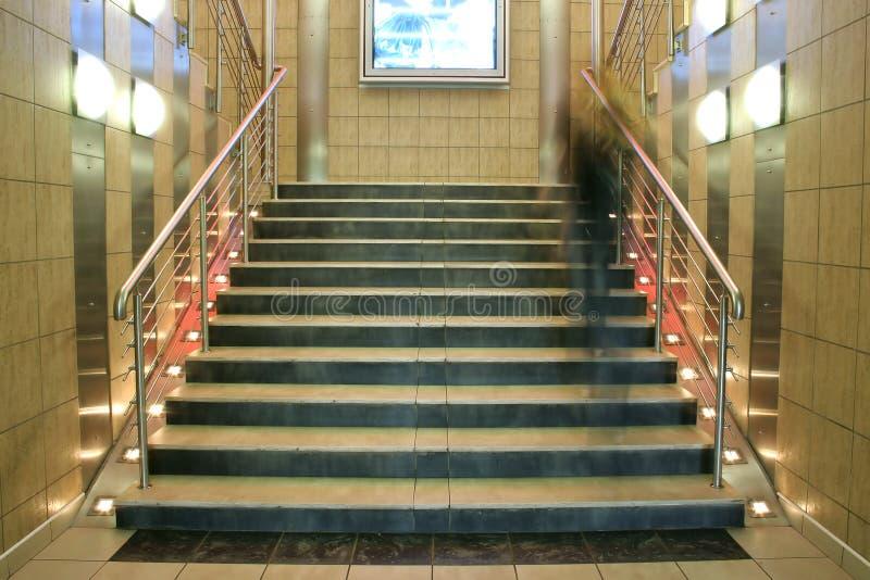 κινούμενη σκάλα προσώπων ευρέως στοκ εικόνα με δικαίωμα ελεύθερης χρήσης