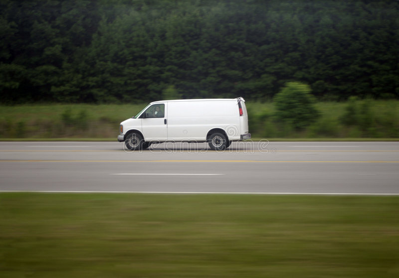 κινούμενο φορτηγό στοκ φωτογραφίες με δικαίωμα ελεύθερης χρήσης
