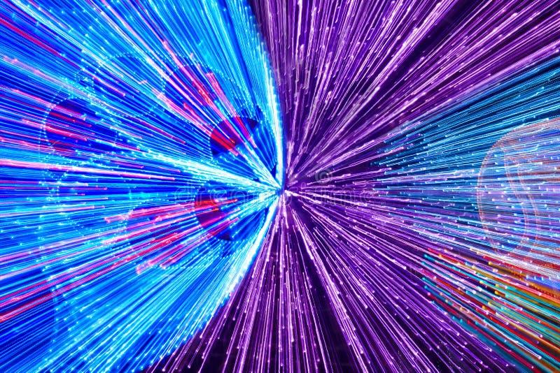 Κινούμενο χρωματισμένο υπόβαθρο φω'των Αφηρημένο φόντο ελεύθερη απεικόνιση δικαιώματος
