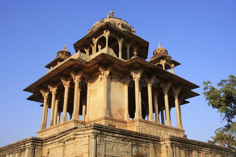 84-κιονωτός κενοτάφιο, Bundi, Rajasthan στοκ φωτογραφία με δικαίωμα ελεύθερης χρήσης