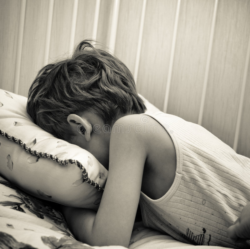 κλάμα παιδιών στοκ εικόνες με δικαίωμα ελεύθερης χρήσης