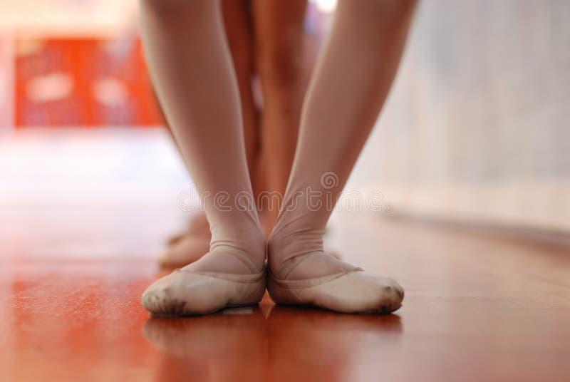 κλάση μπαλέτου στοκ φωτογραφία