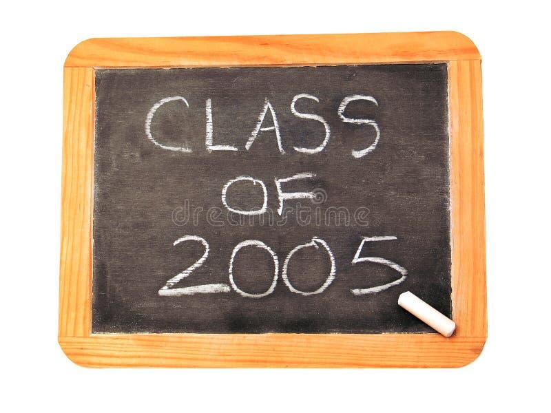 κλάση του 2005 στοκ εικόνες