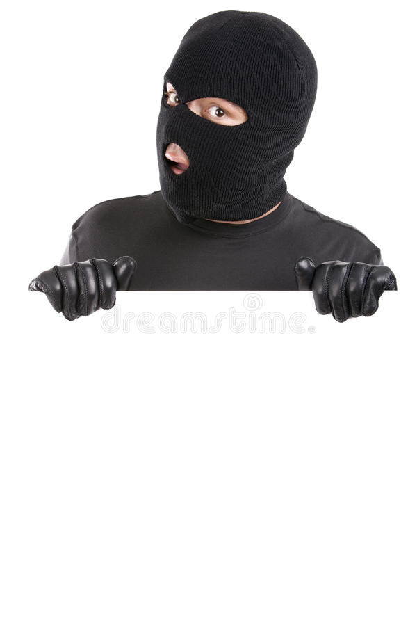 κλέφτης εμβλημάτων στοκ φωτογραφίες