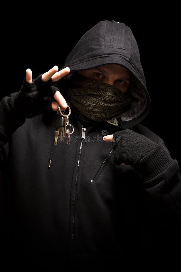 κλέφτης πλήκτρων στοκ φωτογραφία με δικαίωμα ελεύθερης χρήσης