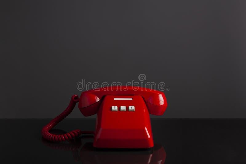 Κλήση έκτακτης ανάγκης 911 στοκ εικόνα με δικαίωμα ελεύθερης χρήσης