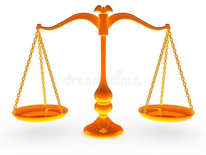 κλίμακα ισορροπίας διανυσματική απεικόνιση