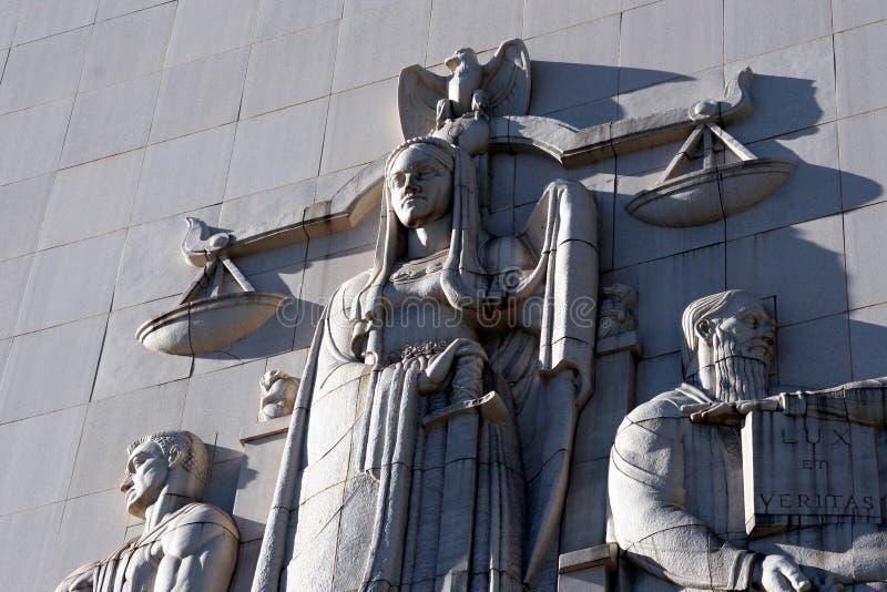 κλίμακες δικαιοσύνης στοκ εικόνα