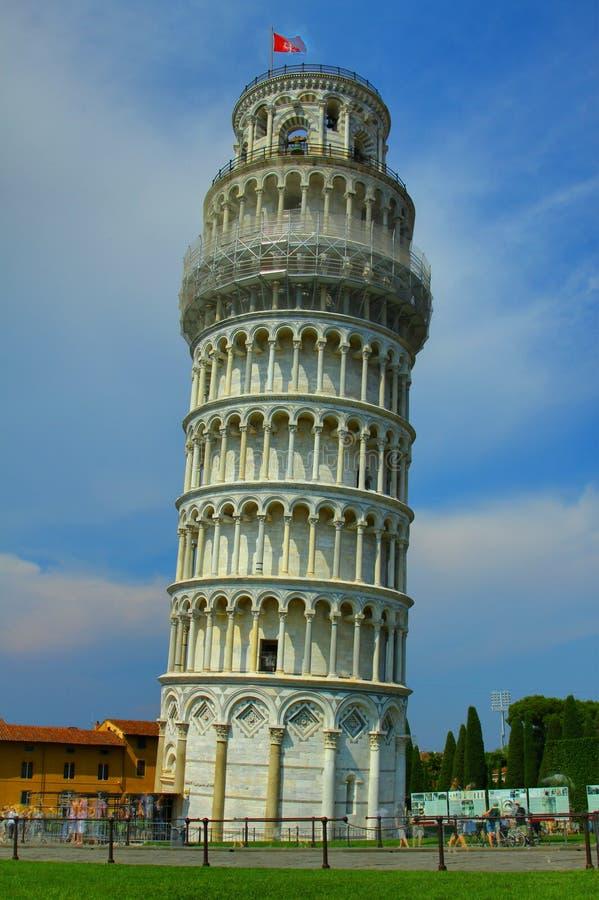 κλίνοντας πύργος της Πίζα&sig στοκ φωτογραφίες