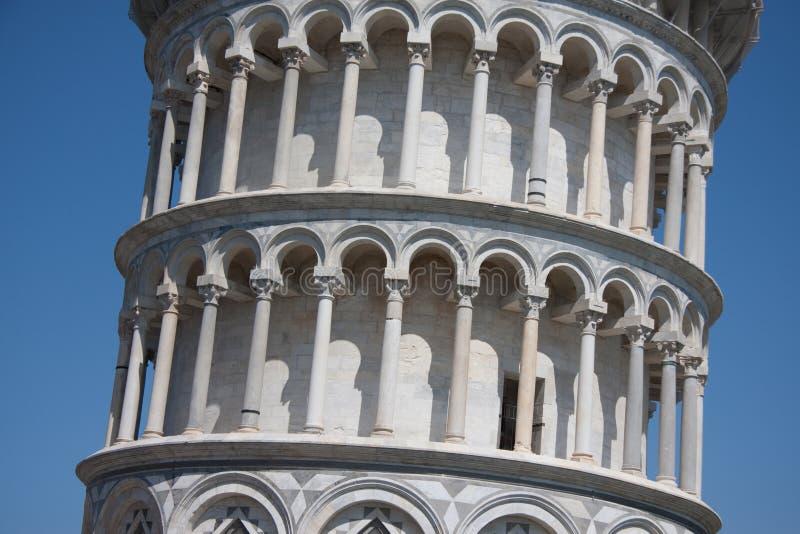 κλίνοντας πύργος της Πίζα&sig στοκ φωτογραφία με δικαίωμα ελεύθερης χρήσης