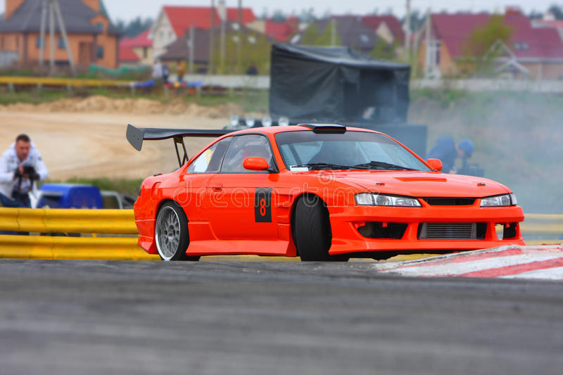 κλίση racecar στοκ φωτογραφίες με δικαίωμα ελεύθερης χρήσης
