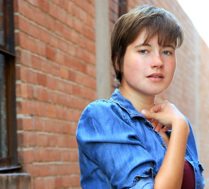 Κλασικές θηλυκές εκφράσεις ομορφιάς στοκ εικόνες με δικαίωμα ελεύθερης χρήσης
