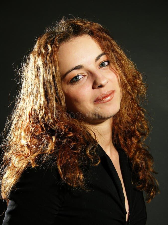κλασική γυναίκα πορτρέτου στοκ εικόνες με δικαίωμα ελεύθερης χρήσης