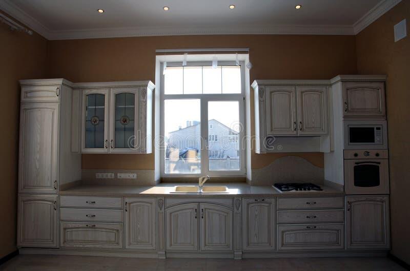 κλασική εσωτερική κουζίνα λεπτομέρειας στοκ φωτογραφίες με δικαίωμα ελεύθερης χρήσης