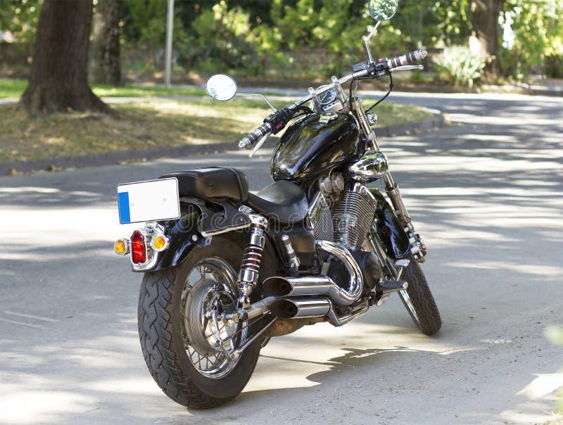 Κλασική μοτοσικλέτα μπαλτάδων στοκ εικόνα με δικαίωμα ελεύθερης χρήσης