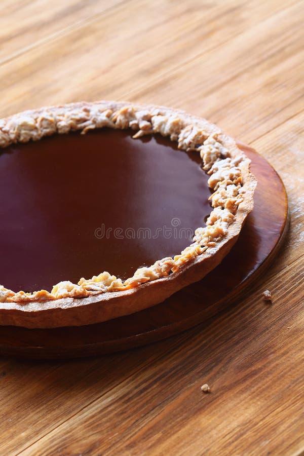 Κλασική σοκολάτα ξινή στοκ εικόνα