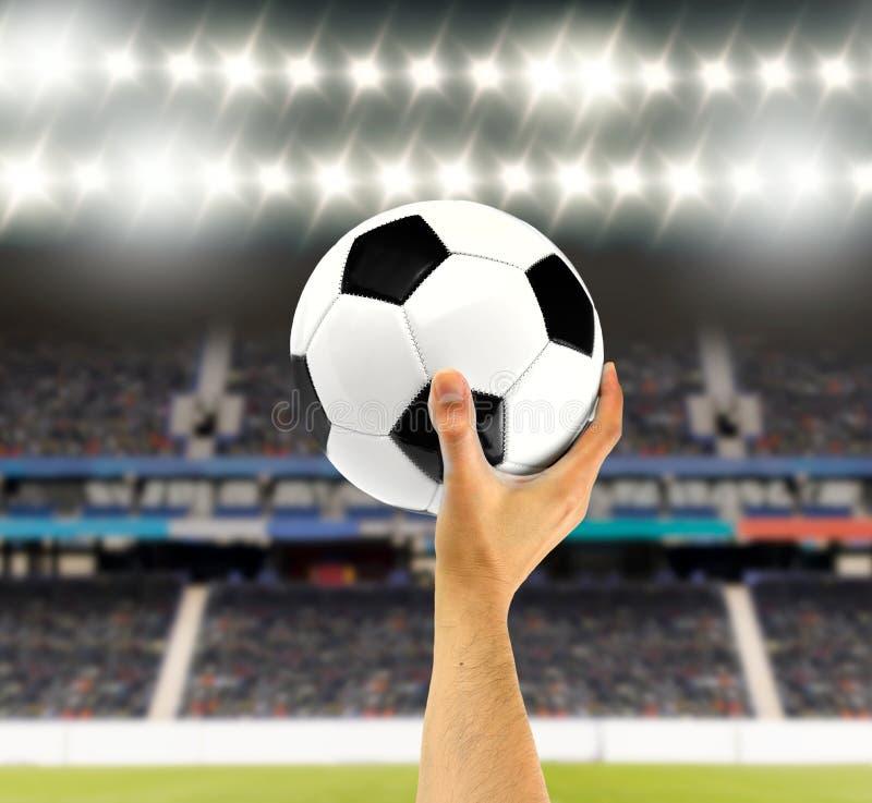 Κλασική σφαίρα ποδοσφαίρου στοκ φωτογραφία με δικαίωμα ελεύθερης χρήσης