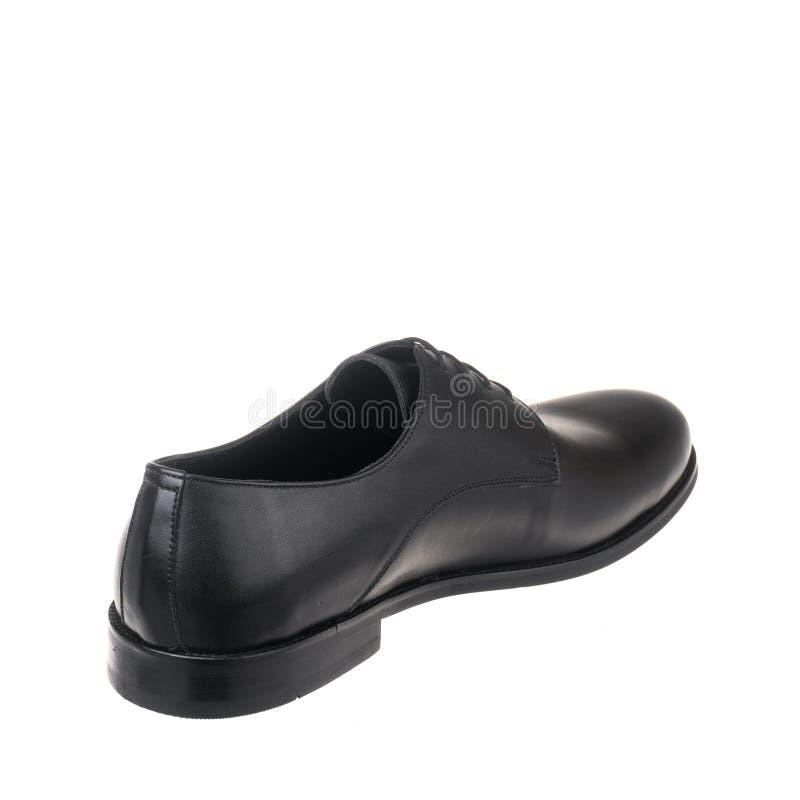 Κλασικός κομψός παπουτσιών για το λευκό ατόμων που απομονώνεται στοκ εικόνες με δικαίωμα ελεύθερης χρήσης